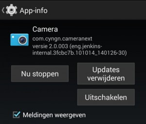 android-apps-verwijderen