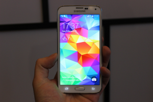 productie Galaxy S5