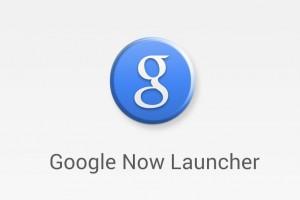 Google Zoeken geüpdatet naar Google Now Launcher: voor iedereen stock?