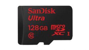 128GB microSD