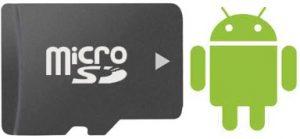 microSD-kaart android