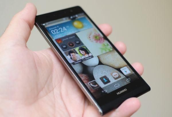 'Betaalbare topper Huawei Ascend P7 verschijnt in mei'