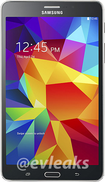 '7 inch-versie Galaxy Tab 4 laat zich zien op uitgelekte foto'