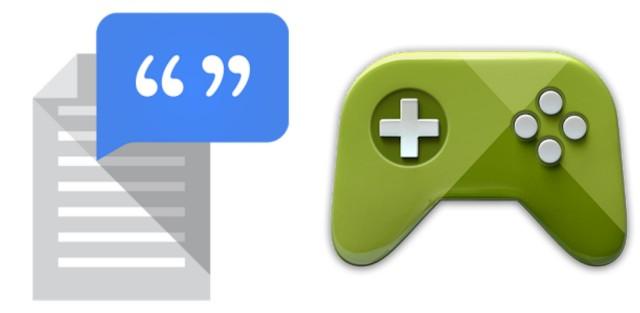 Google voorziet Google Play Games en Google Tekst-Naar-Spraak van update