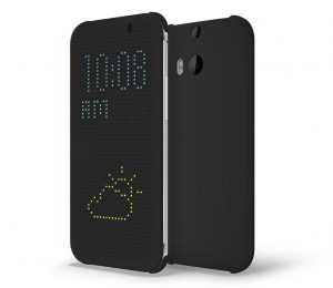 HTC M8_Dot_View_Case_GREY_