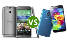 HTC One VS Galaxy S5: nieuwe toppers vergeleken