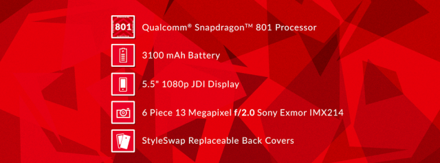 OnePlus One Snapdragon 801-chip