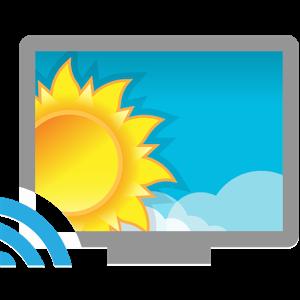 Gebruik je tv als weerstation met Weerplaza TV voor de Chomecast