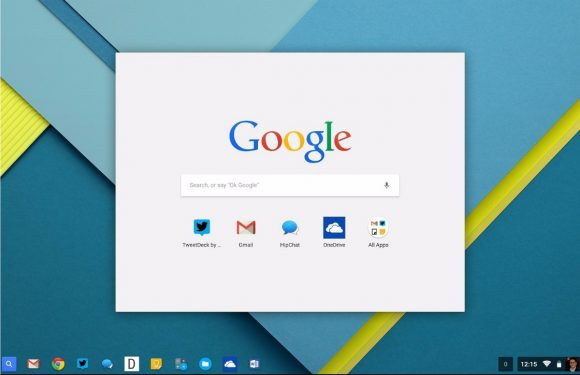 Google: 'Tablets met Chrome OS in de maak'