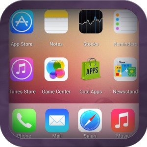 iOS 7 Launcher voor Android: verander je Android in een iPhone
