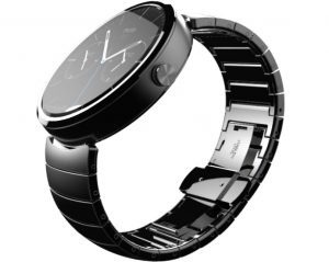 Moto 360 smartwatches met Android Wear
