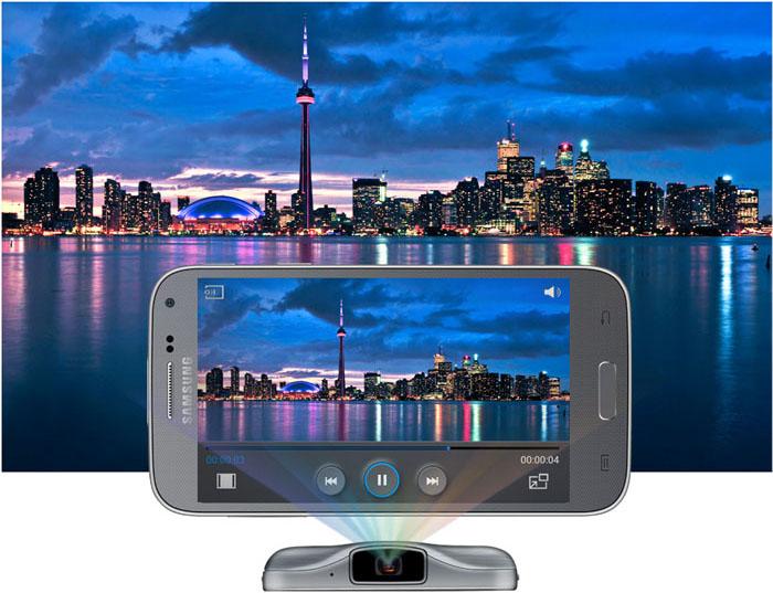Beamer-telefoon Galaxy Beam2 verschijnt op Chinese Samsung-website