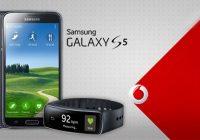 Leuke actie bij Vodafone: gratis Gear Fit bij aanschaf van een Galaxy S5