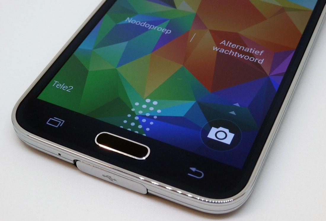 Galaxy S5 update verbetert prestaties en nauwkeurigheid vingerafdrukscanner