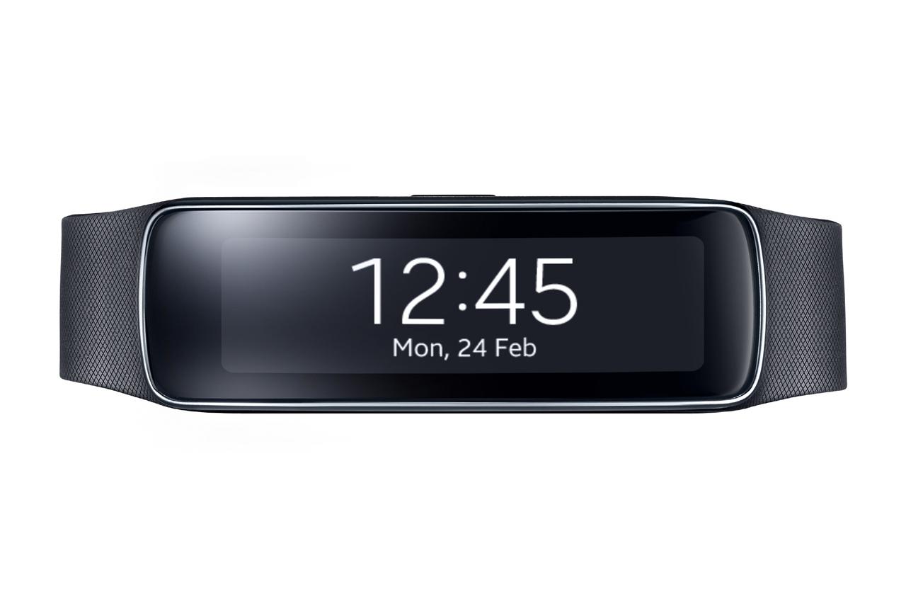 Landschap- én portretmodus voor Samsungs sportarmband Gear Fit