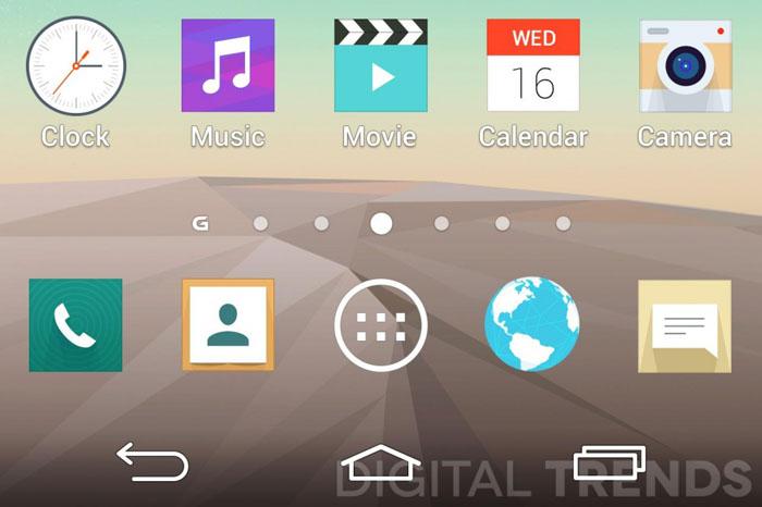 Screenshots: LG G3 krijgt opgefriste en strakkere interface