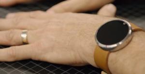 Futuristische Moto 360-smartwatch even te zien in video