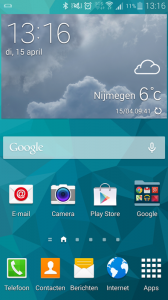 Samsung Touchwiz screenshot