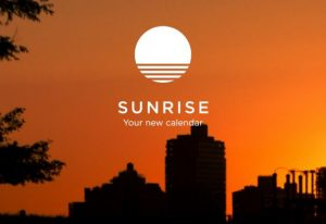 Sunrise Calender Android