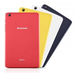 Lenovo kondigt goedkope tablets aan met mooie gekleurde behuizingen