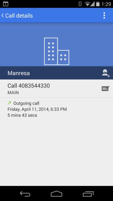 'Google plaatst screenshot van vernieuwde telefoon-app'