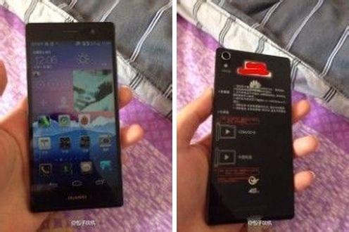 Nieuwe Huawei Ascend P7 foto's tonen toestel in het wild