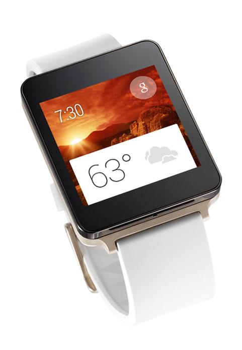 LG onthult gouden LG G Watch met scherm dat altijd is ingeschakeld