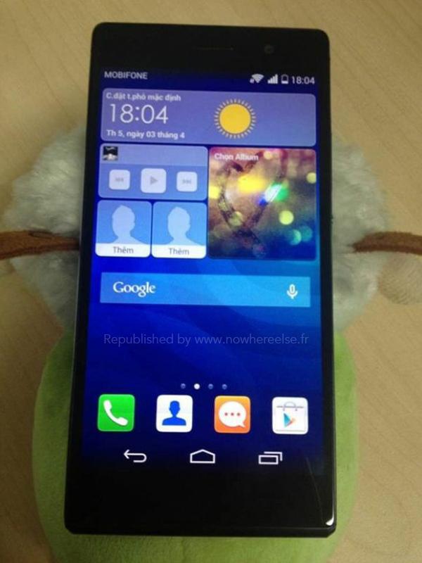 Kersverse Huawei Ascend P7 foto's tonen 'dikkere opvolger'