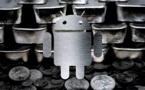 Android Silver-telefoon