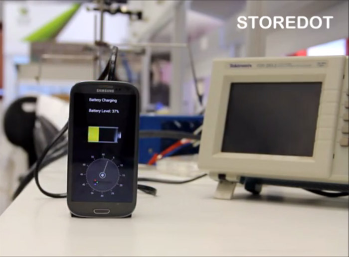 Video: smartphone-oplader laadt je toestel in 30 seconden op