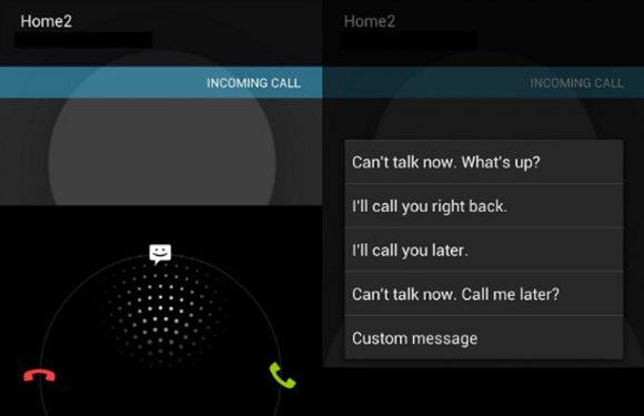 In 4 stappen een sms sturen wanneer je een oproep weigert