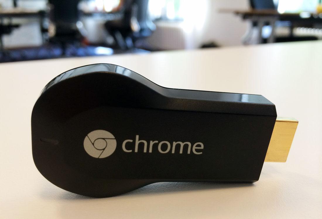 Opfrisbeurt voor Chromecast website: vind sneller toffe apps