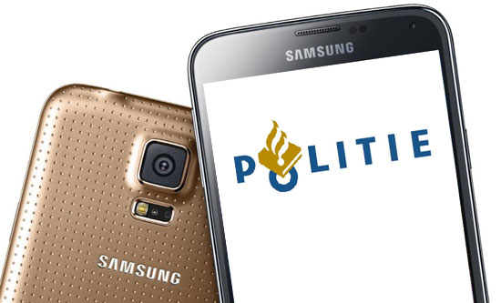 Galaxy S5 diensttelefoon