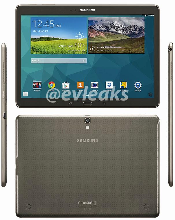 Persfoto's tonen grotere variant Samsung Galaxy Tab S