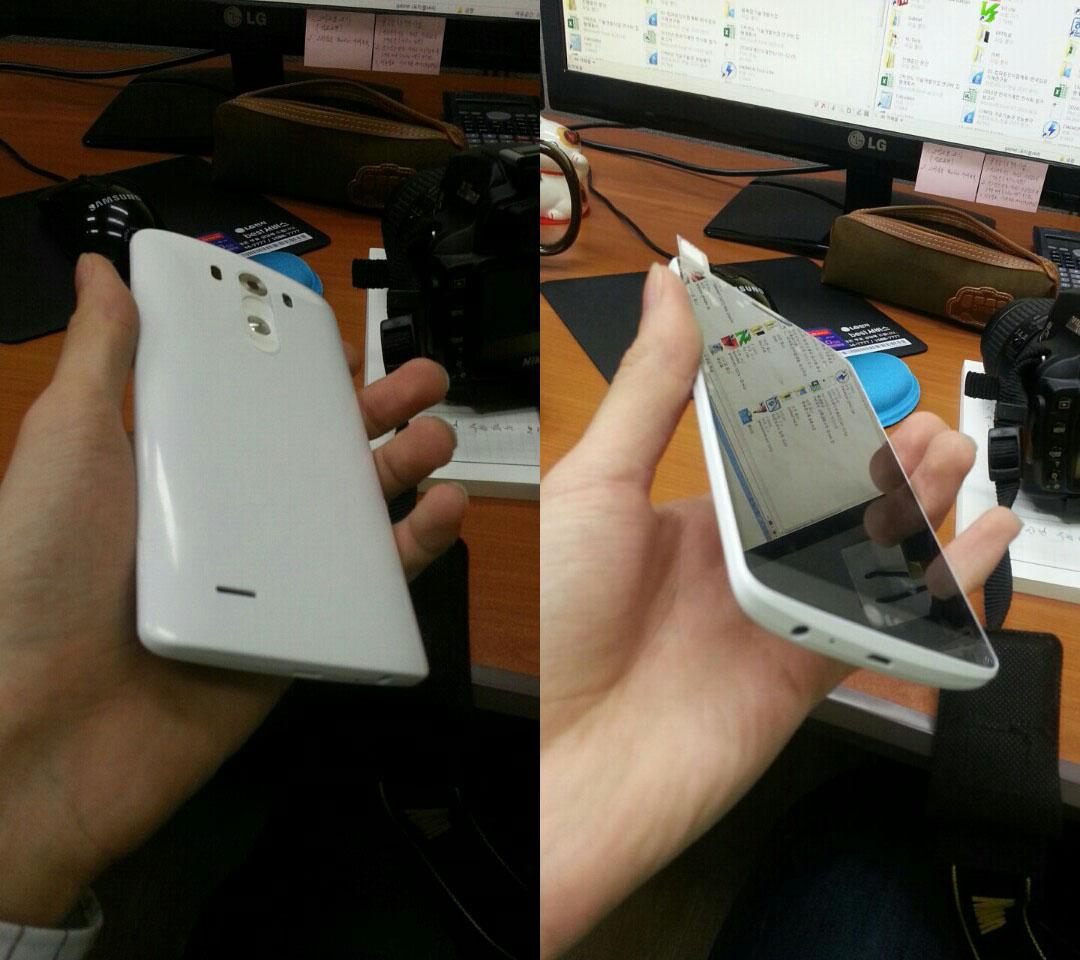 Uitgelekte foto's tonen voor- en achterzijde van LG G3