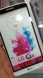 LG G3 microSD-kaart