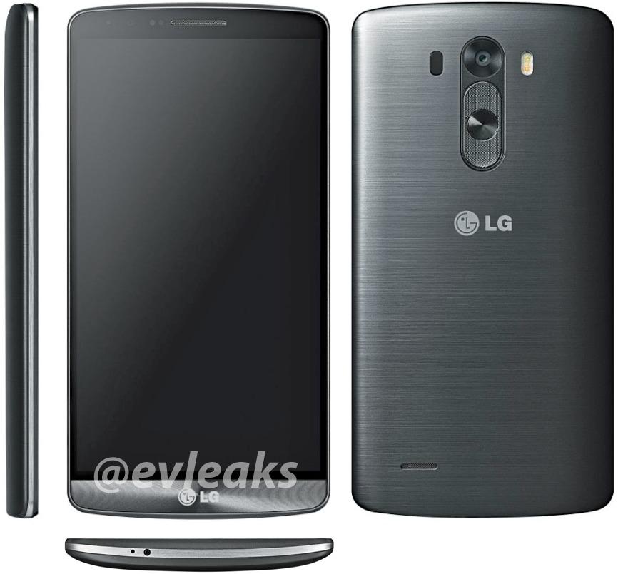 Nieuwe foto's tonen design en interface van LG G3