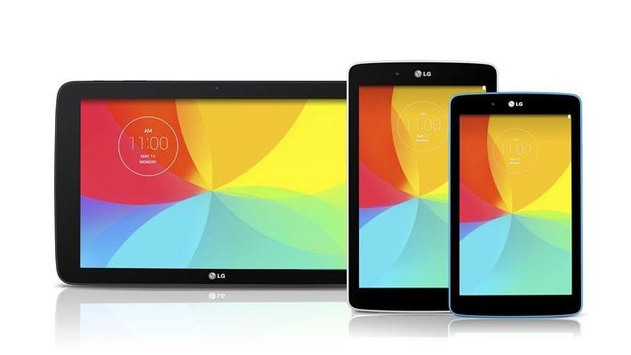 Tabletportfolio LG wordt uitgebreid met nieuwe formaten