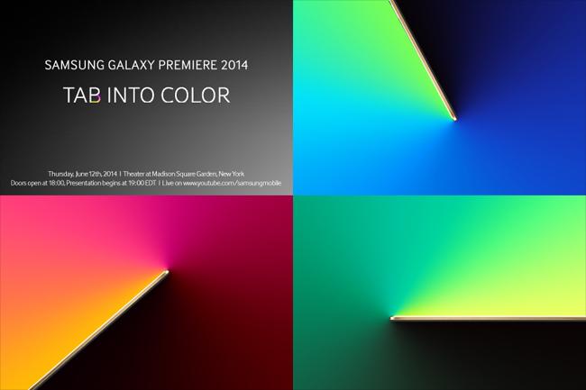 'Samsung presenteert Galaxy Tab S op 12 juni'