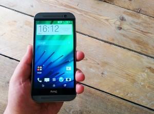 'HTC One M8 Prime gemaakt van aluminium en vloeibaar rubber'
