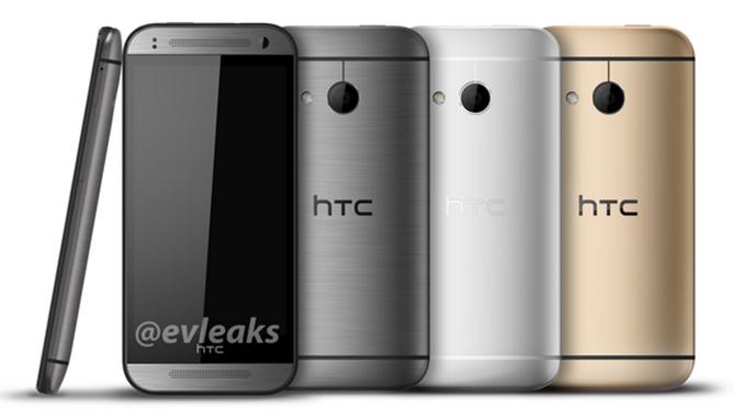 HTC One Mini 2 foto gelekt: toestel krijgt kekke kleuraccenten