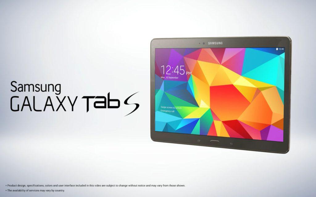 Galaxy Tab S kopen