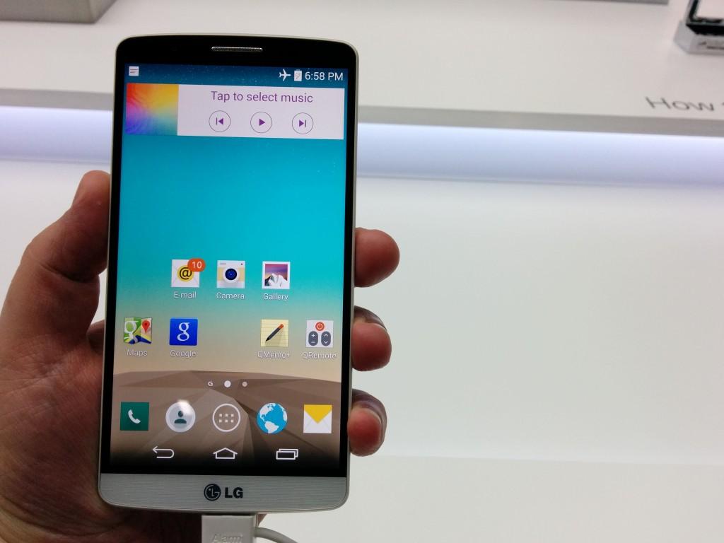 LG G3 review: veel pixels, veel lasers en veel schoonheid