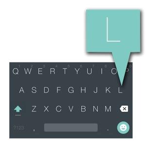 android L toetsenbord