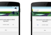 'Google Now-screenshots hinten naar Android 5.0'