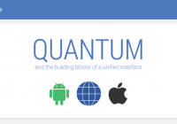 Quantum Paper: universeel design voor apps Android, Chrome en iOS