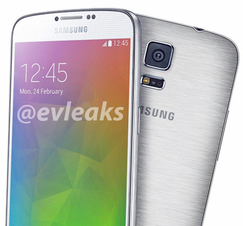'Metalen Samsung Galaxy F te zien in gelekte persfoto'