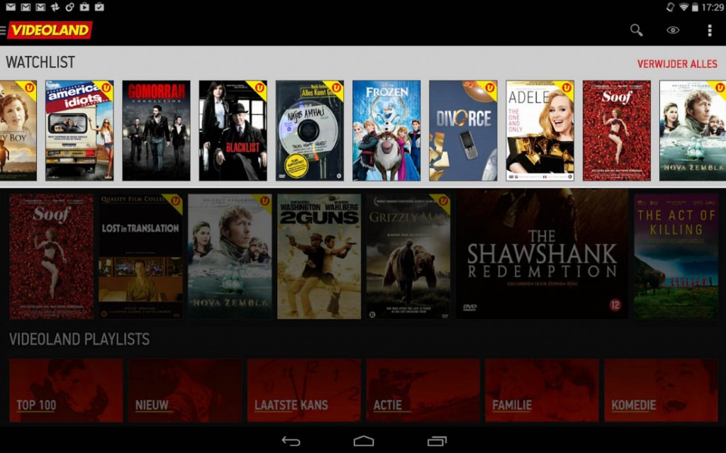 videoland android app
