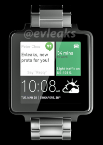 HTC smartwatch