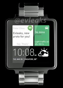 Dit wordt mogelijk de smartwatch van HTC